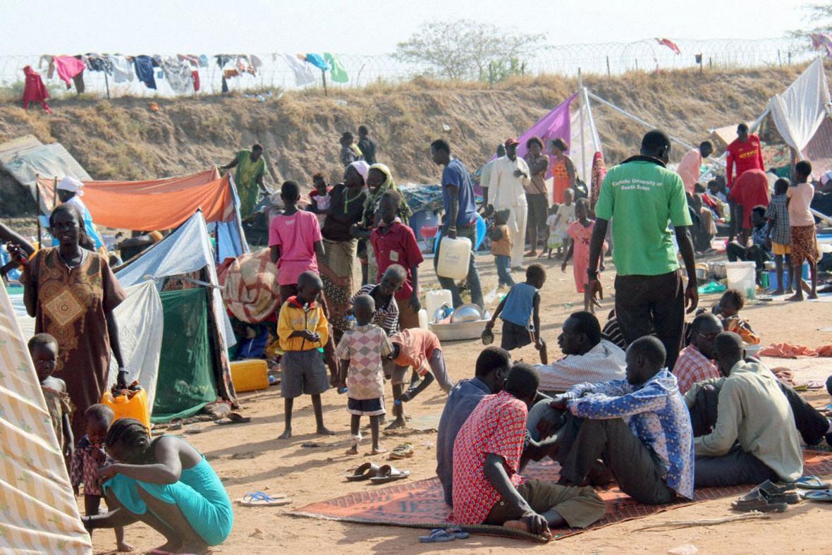 Uprchlíci z Jižního Súdánu