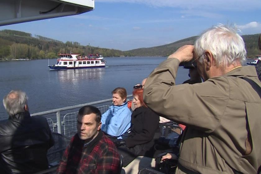 Zahájení plavební sezóny na Brněnské přehradě
