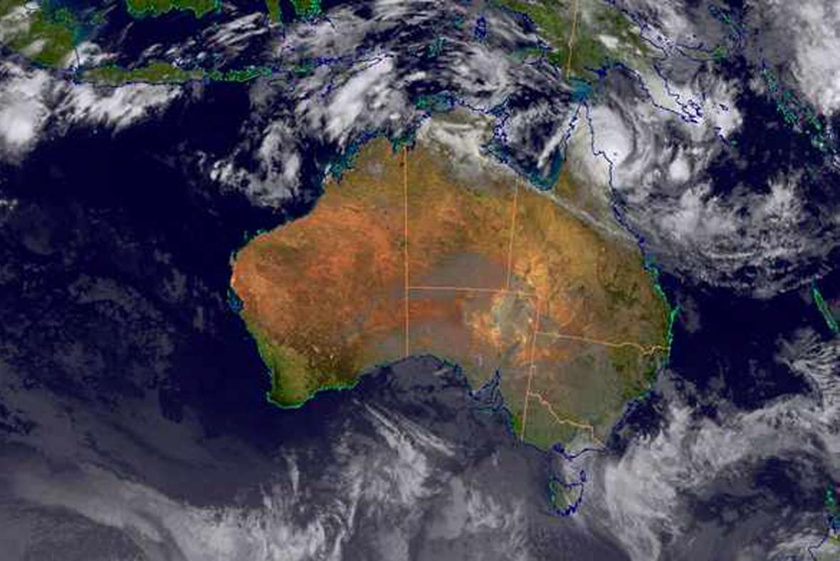Cyklon Ita dorazil do Austrálie