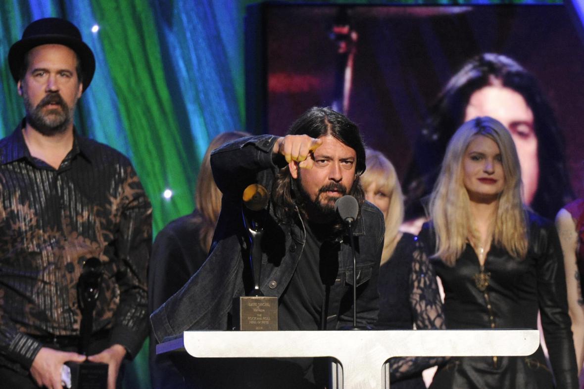 Krist Novoselic a Dave Grohl