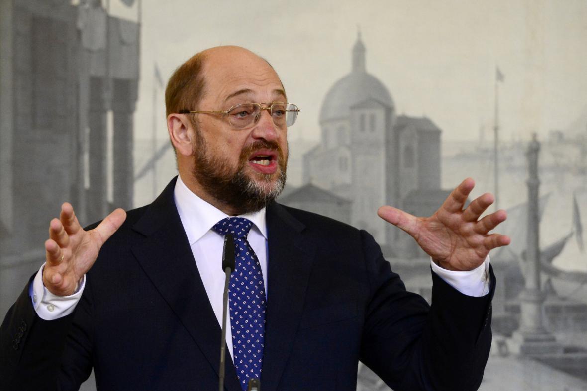 Předseda EP Martin Schulz