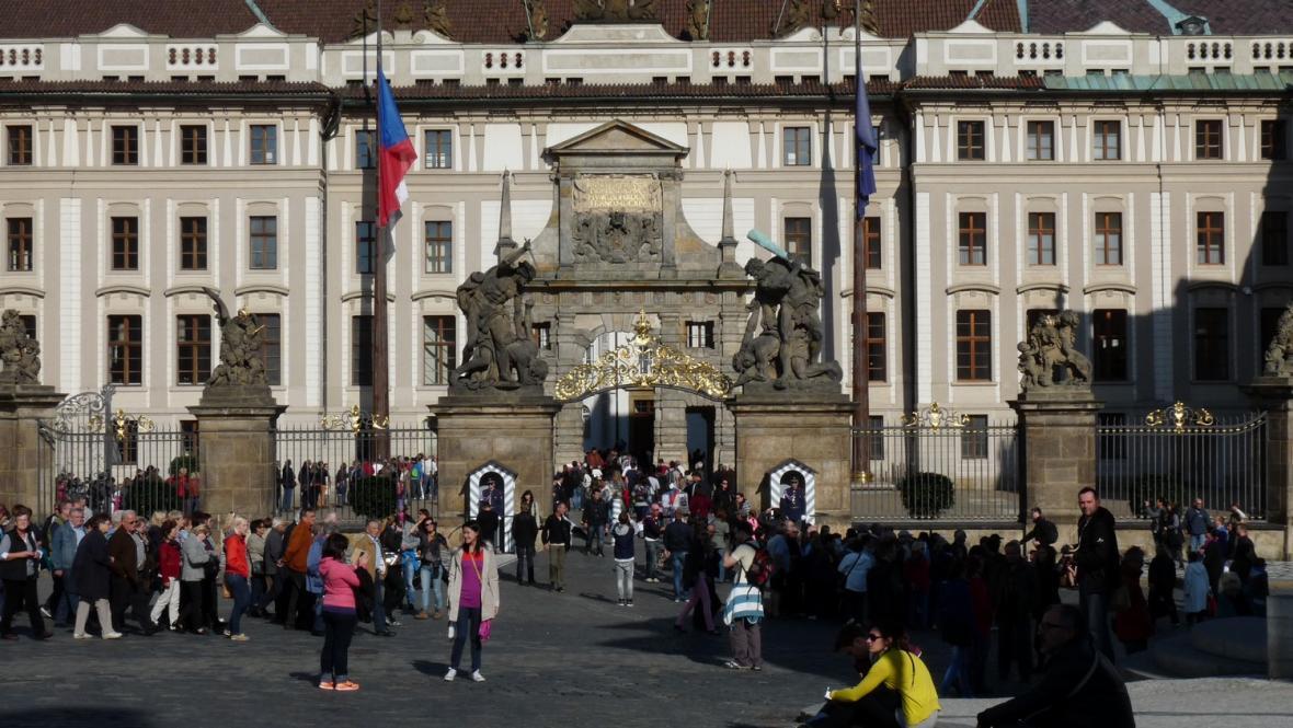 Pražský hrad / Matyášova brána