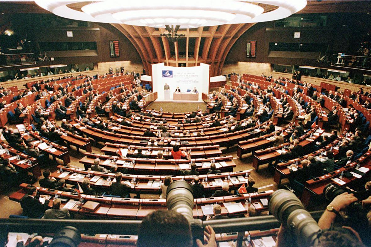 Rada Evropy ve Štrasburku