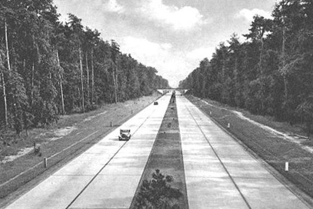 Část Hitlerovy dálnice