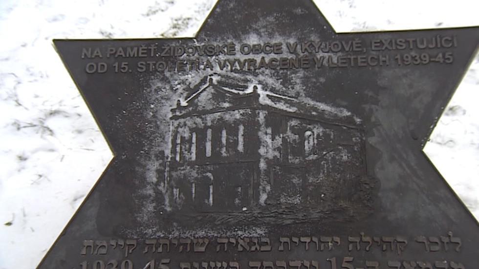 Pamětní deska v Kyjově