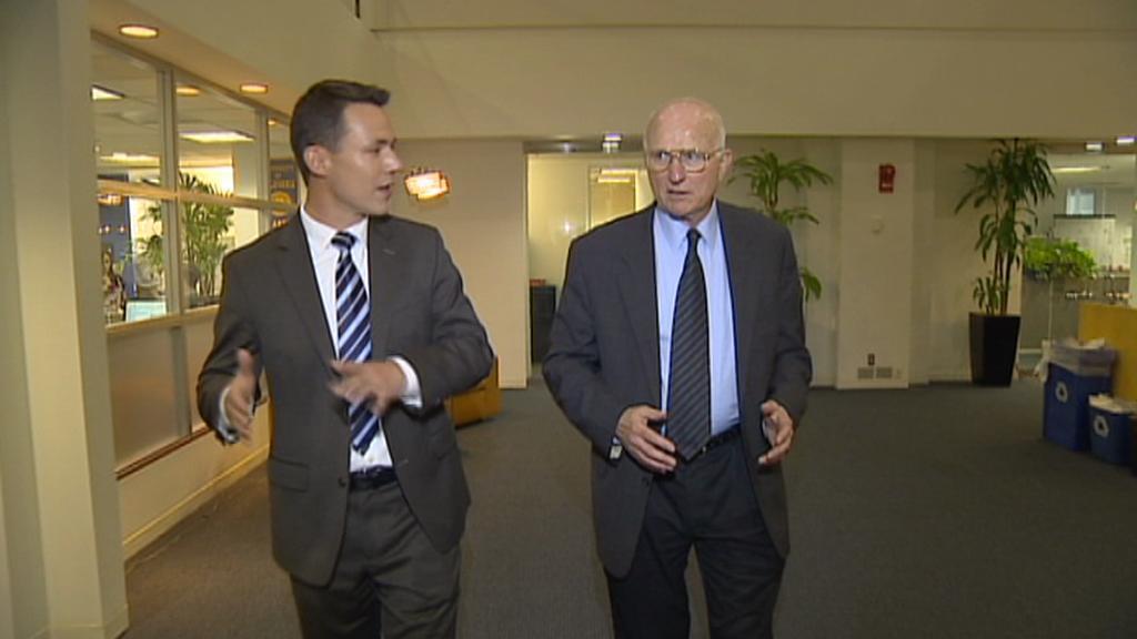 Zpravodaj ČT Martin Řezníček a Lawrence Korb