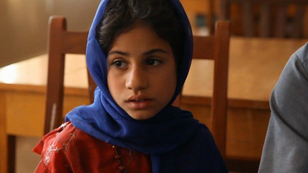 Zachráněná Afghánka Nachma