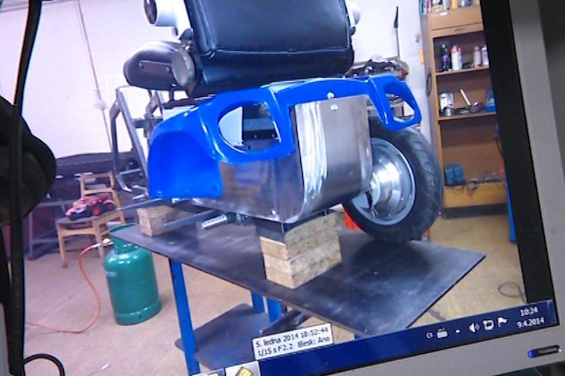Dodavatel vozík vyrábí už více než rok