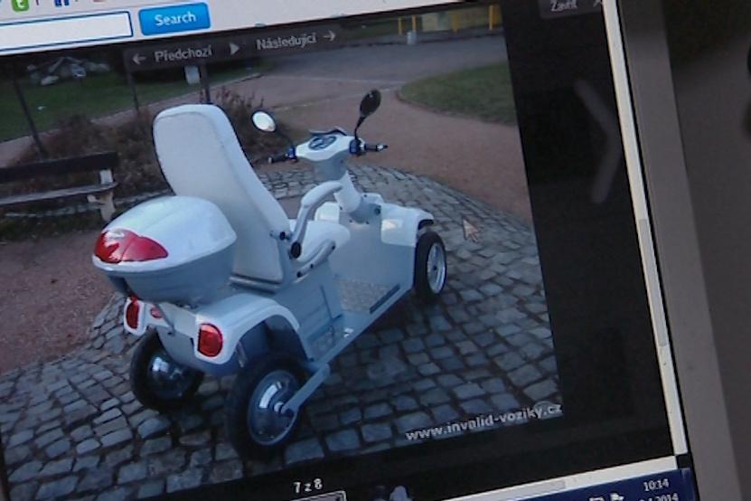 Nový vozík měl Rostislavu Čuříkovi vrátit svobodu