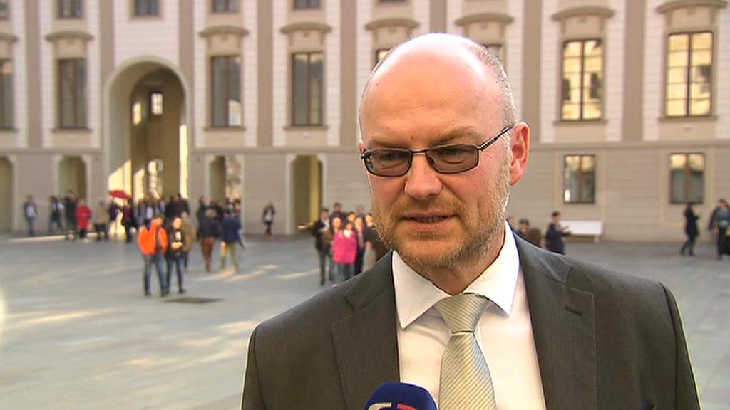 Prezident Soudcovské unie Tomáš Lichovník