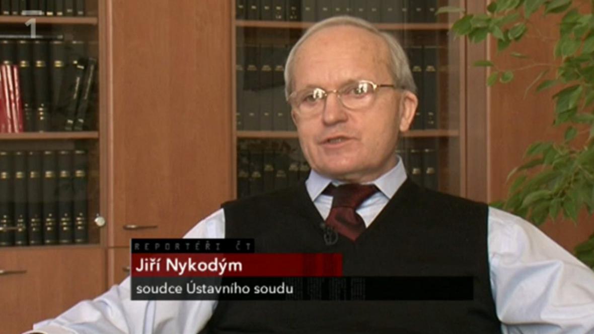 Jiří Nykodým, soudce Ústavního soudu