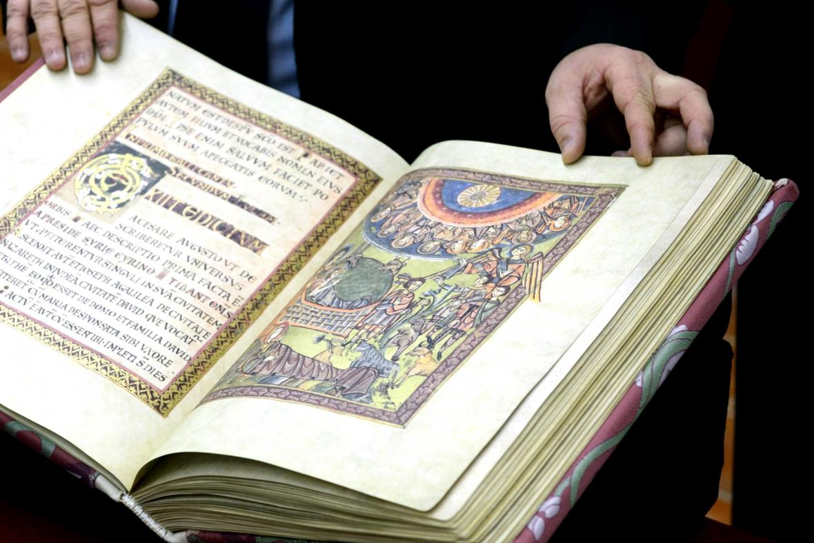 Faksimile Vyšehradského kodexu