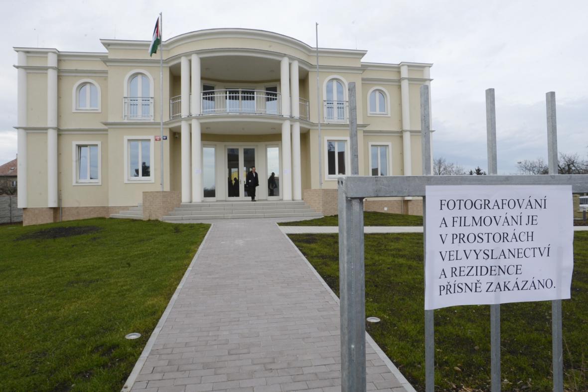 Palestinské velvyslanectví v Suchdole