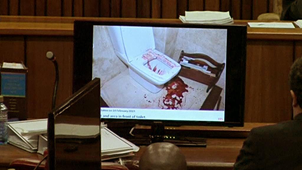 Důkazní materiály v procesu s Oscarem Pistoriusem