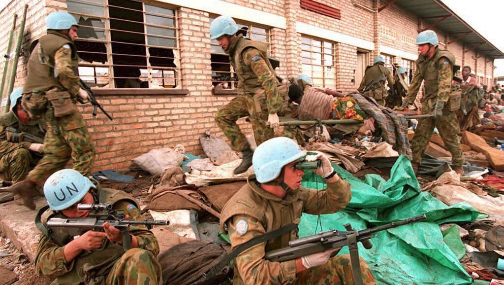 Jednotky OSN ve Rwandě