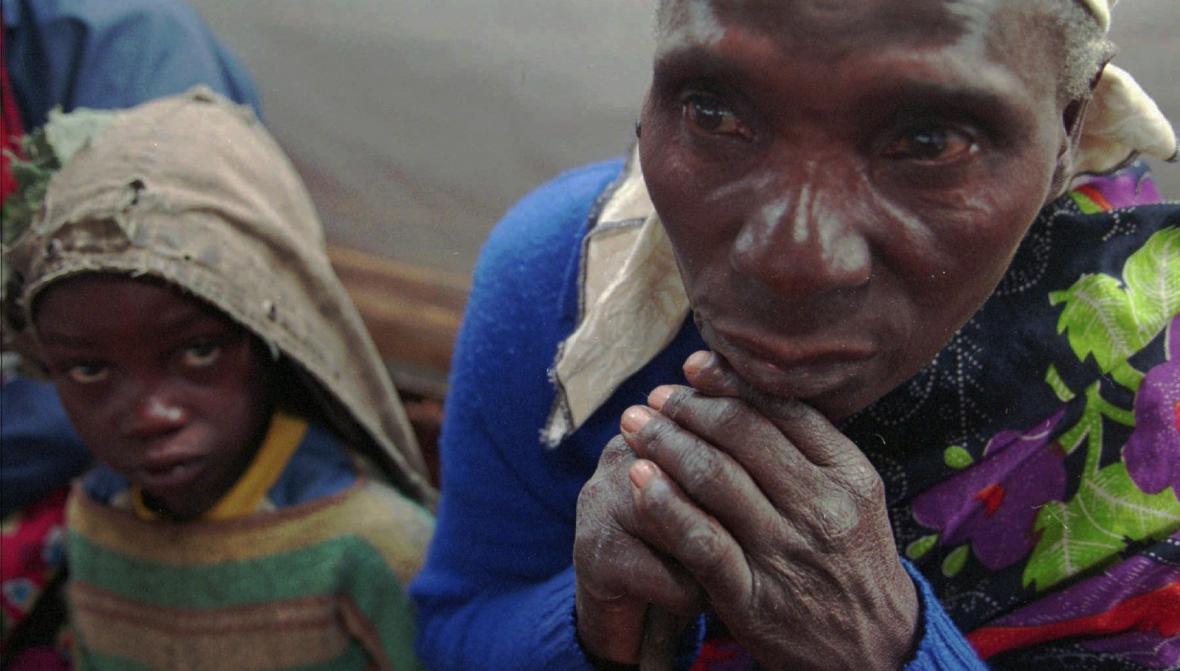 Uprchlíci z rwandské občanské války