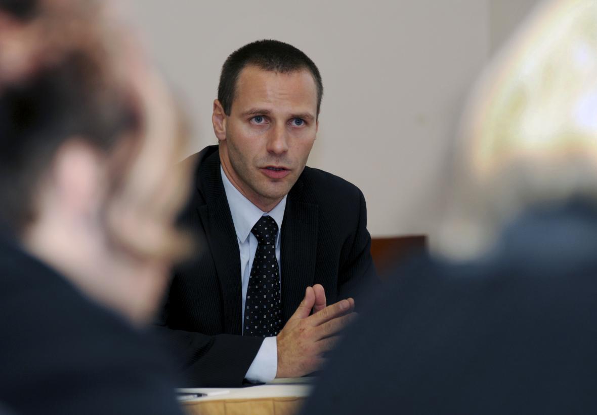 Petr Handl, mluvčí RPG Byty