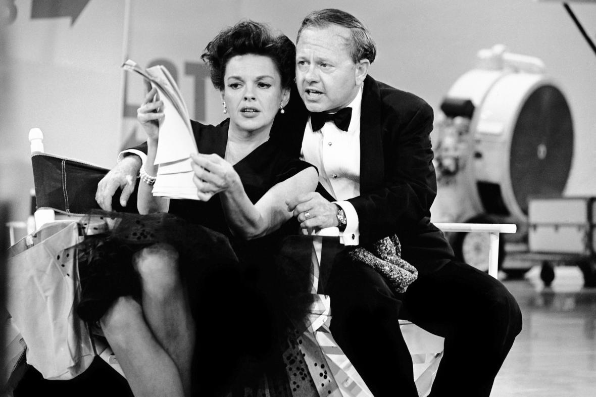 Mickey Rooney a Judy Garlandová (1963)