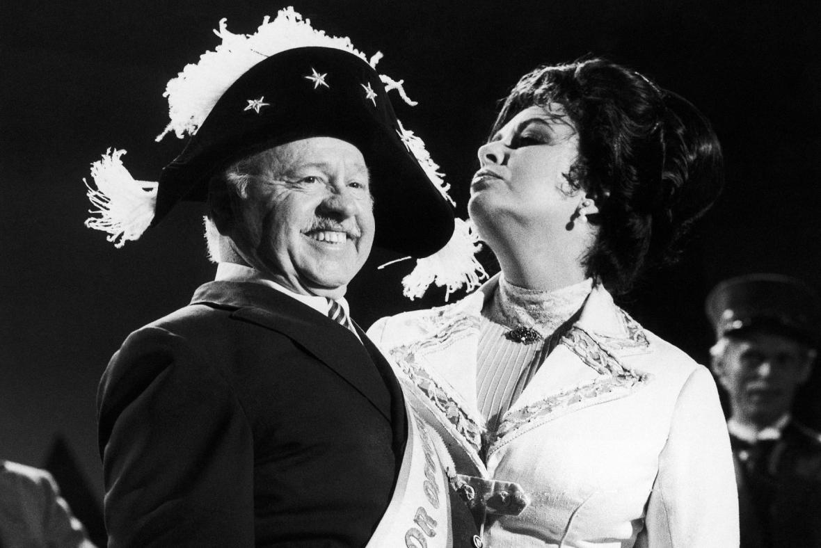 Mickey Rooney a Elizabeth Taylorová (1981)