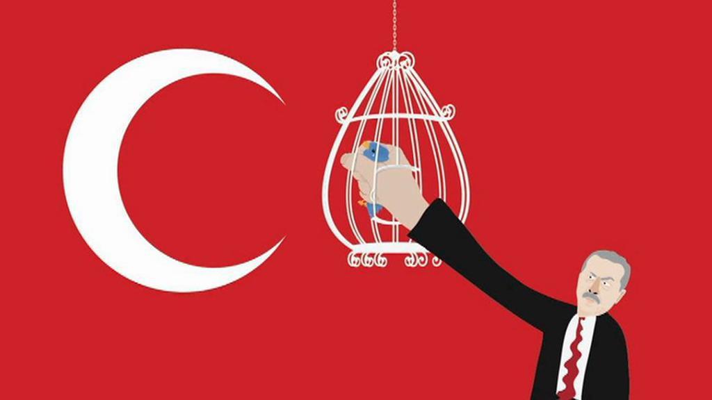 Reflexe nedávné snahy turecké vlády blokovat Twitter