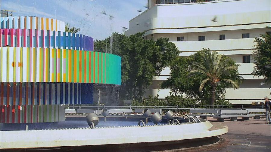 Dizengoffovo náměstí v Tel Avivu