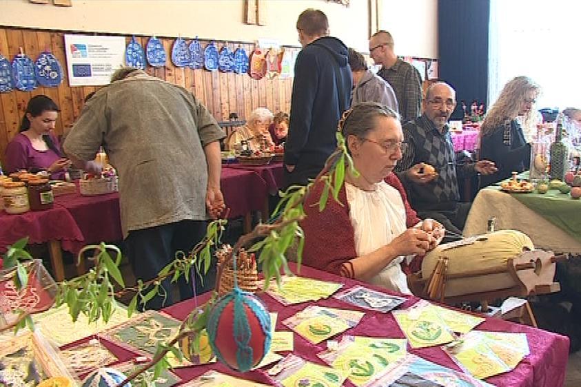 Výstava kraslic ve Vacenovicích na Hodonínsku