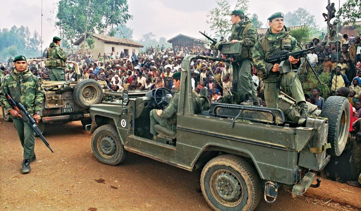 Občanská válka ve Rwandě