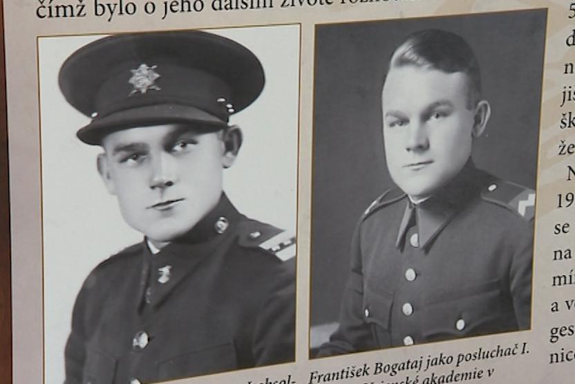 Velitelem skupiny byl ostrožský rodák František Bogataj