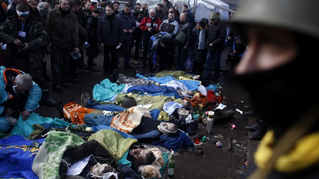 Násilí na Ukrajině