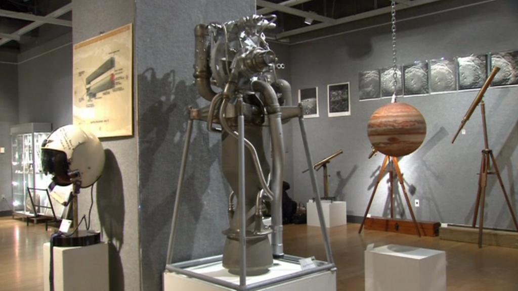 Aukční síň nabízí předměty z kosmu