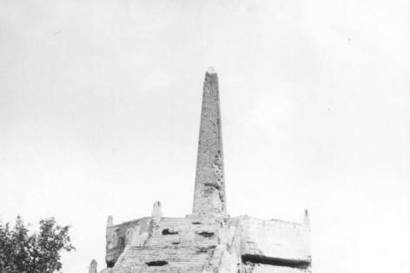 Monument Viktoria v 60. letech
