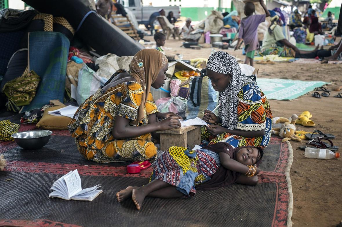 Muslimové v Bangui