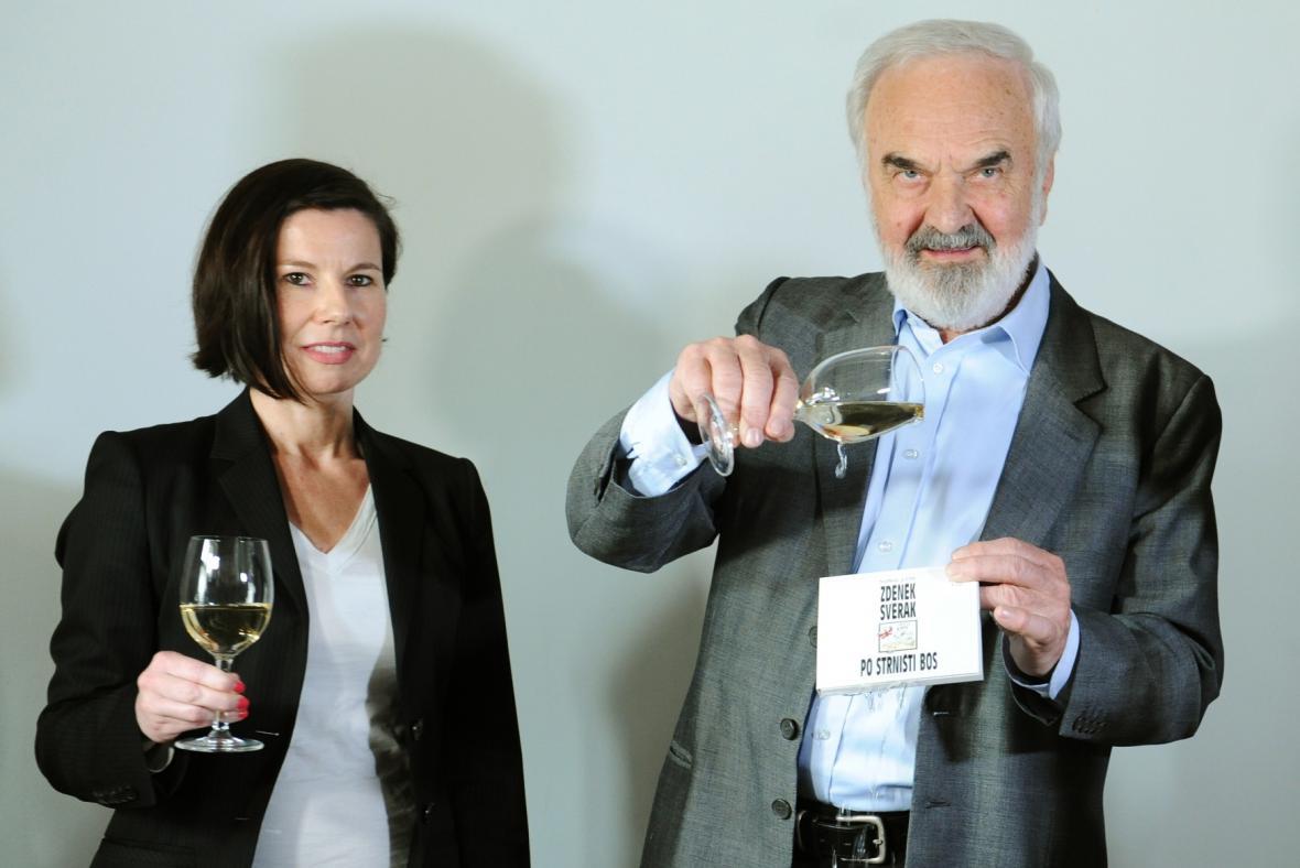 Iva Millerová a Zdeněk Svěrák