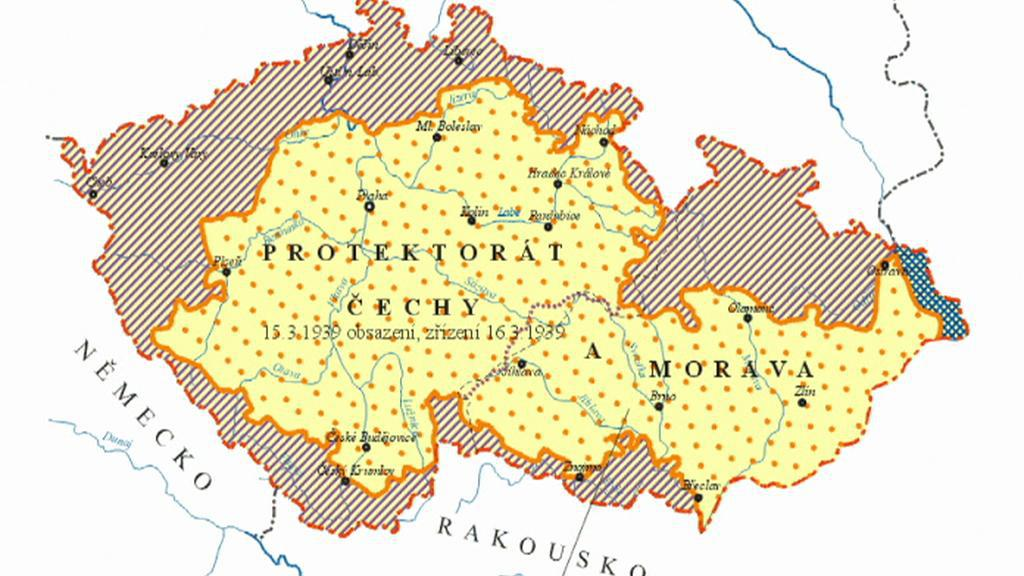 Sudety/Protektorát Čechy a Morava