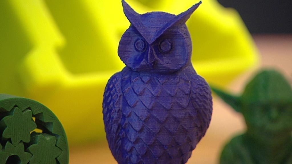 Výrobky 3D tiskárny
