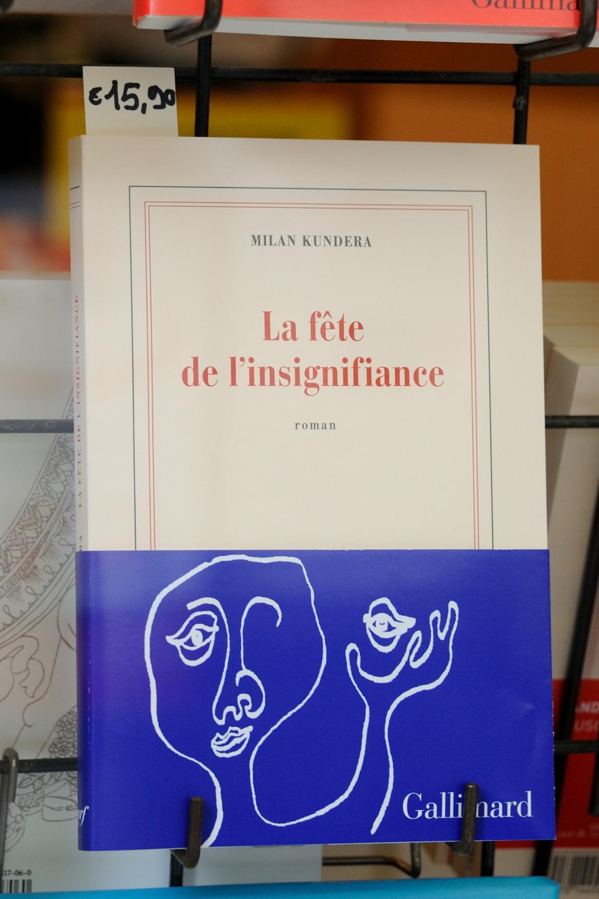 Milan Kundera / Oslava bezvýznamnosti