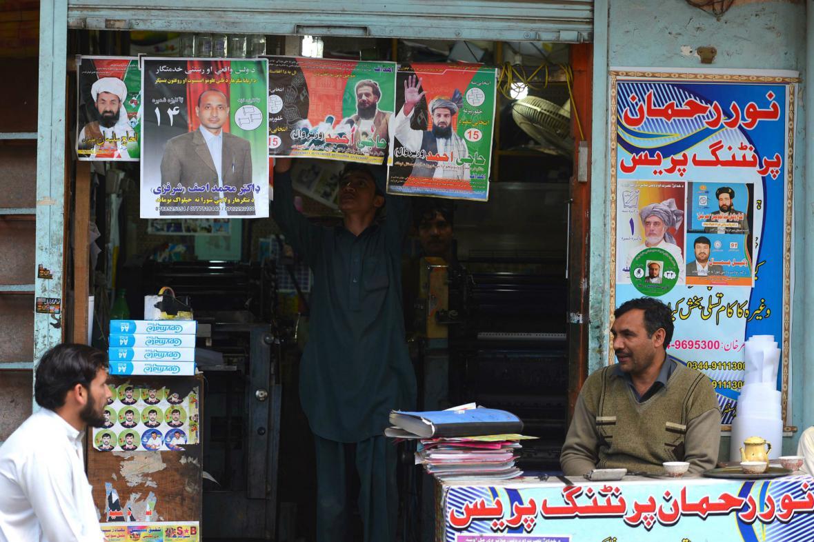 Afghánistán žije prezidentskými volbami