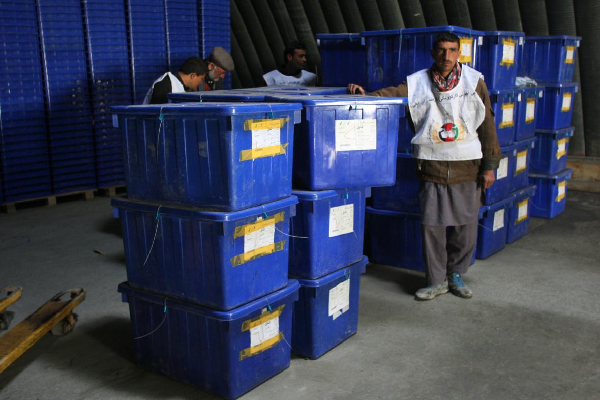 Přípravy na afghánské volby