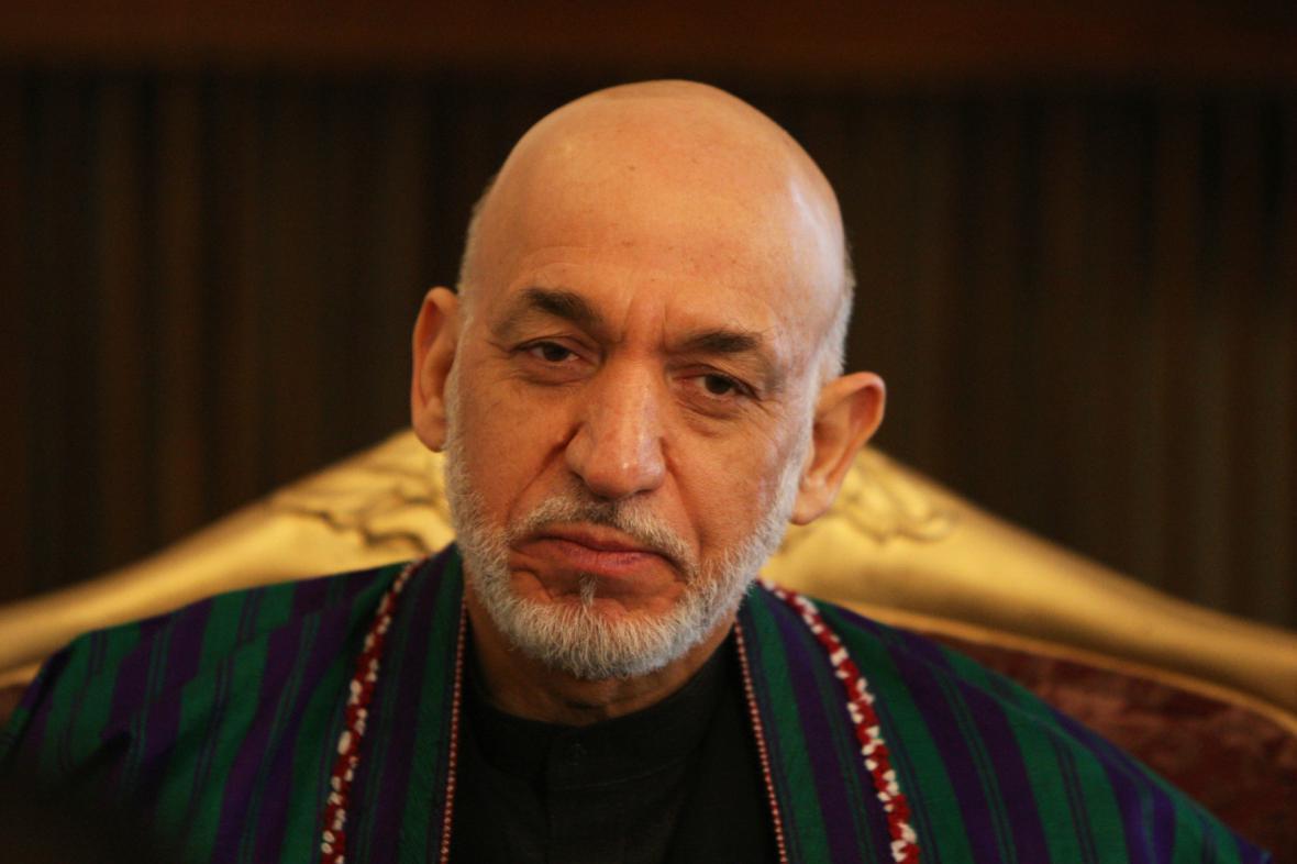 Hámid Karzaj po 12 letech opouští prezidentskou funkci
