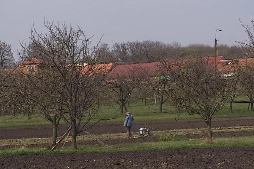 Strážovice leží nedaleko Kyjova na Hodonínsku