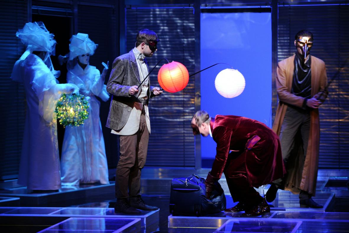 Benátský kupec v Městském divadle Brno