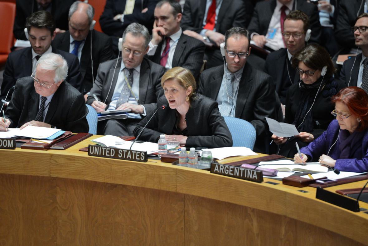 Jednání Rady bezpečnosti OSN