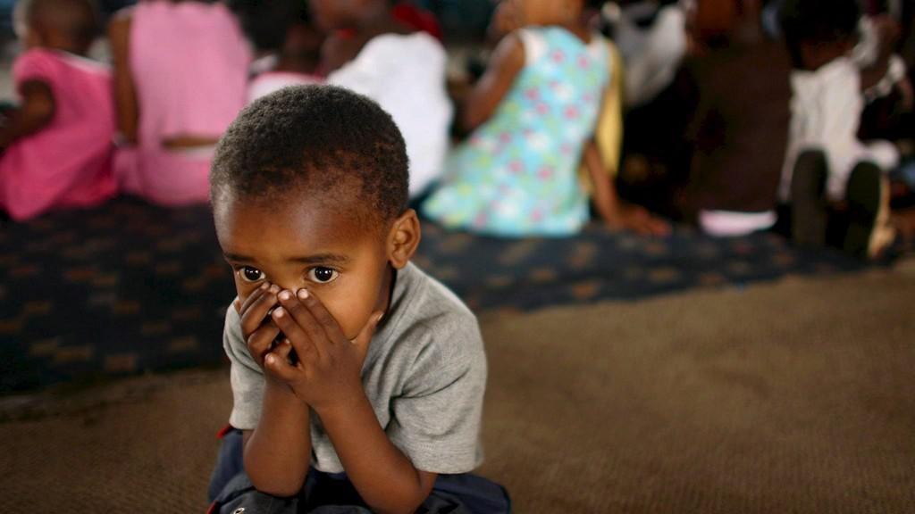 Afričané umírají na AIDS
