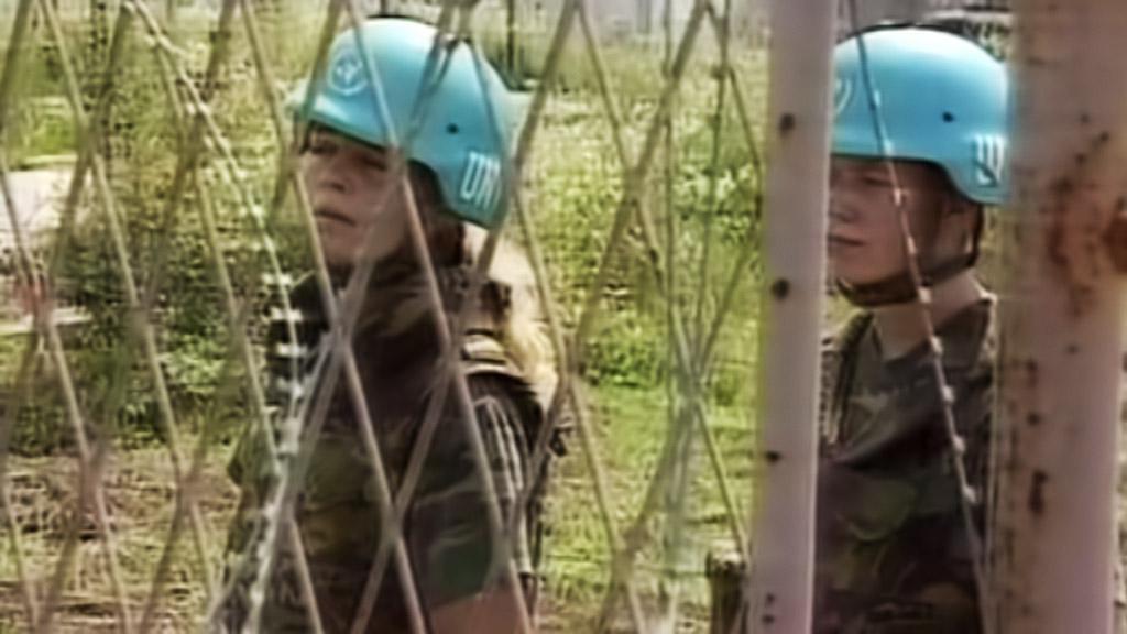 Jednotky OSN ve Srebrenici