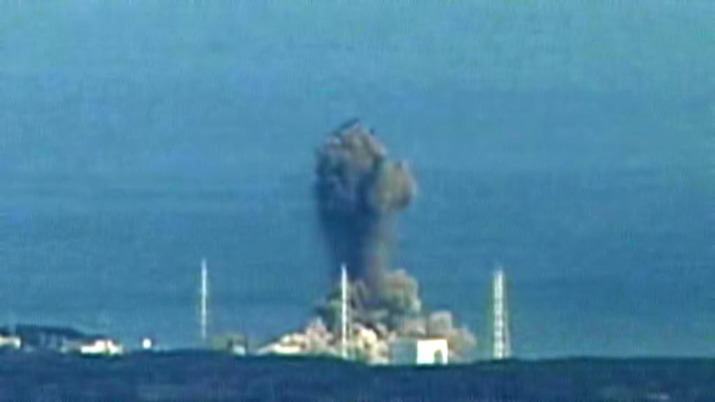 Výbuch ve Fukušimě