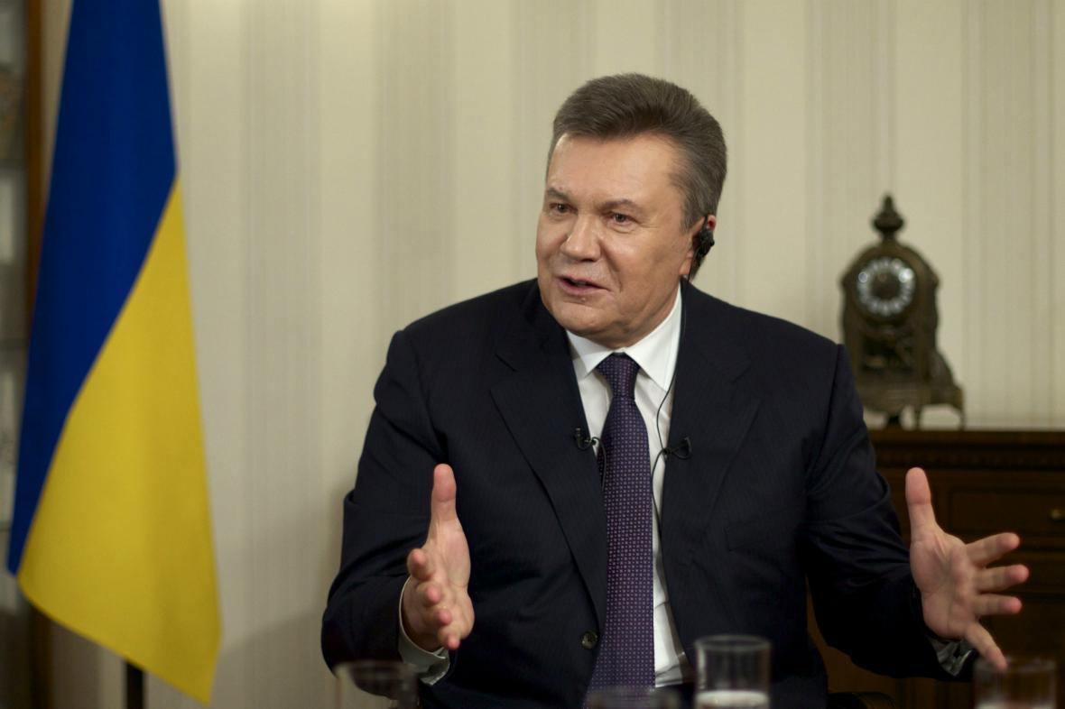 Viktor Janukovyč poskytl rozhovor agentuře AP