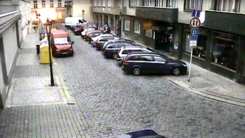 Výbuch plynu v Divadelní ulici