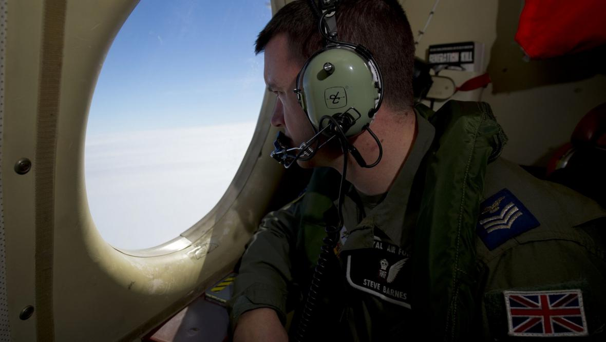Hledání trosek boeingu na jihu Indického oceánu