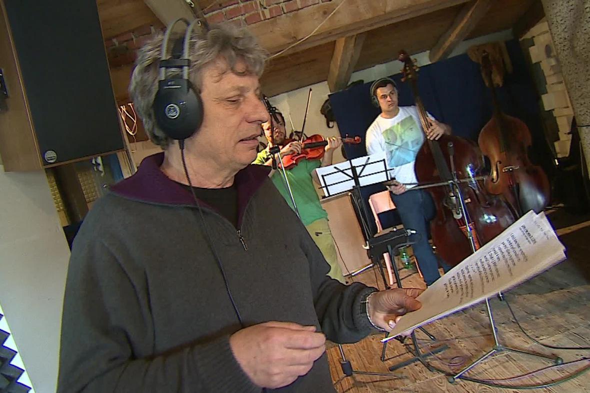 Příprava nového alba souboru Hradišťan
