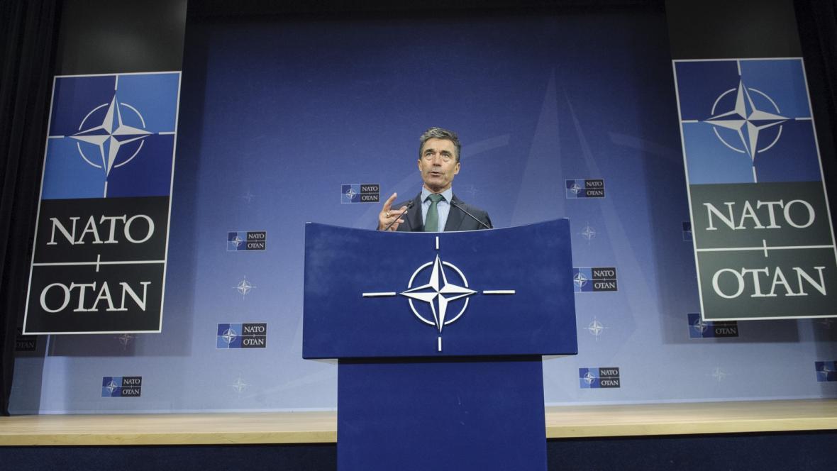 Schůzka ministrů zahraničí států NATO v Bruselu